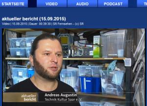 SR aktueller Bericht - Freifunk für Landesaufnahmestelle in Lebach